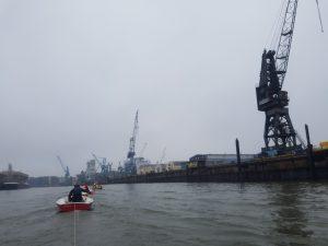 Bootstransport 2016 - Über die Elbe